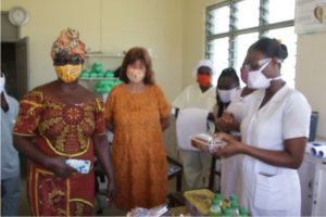 Baobab Foundation supports Cape Coast Metro Hospital, fishermen with food, PPEs amid Covid-19